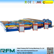 quality products roof and wall roll forming machine for cold room panel made in china