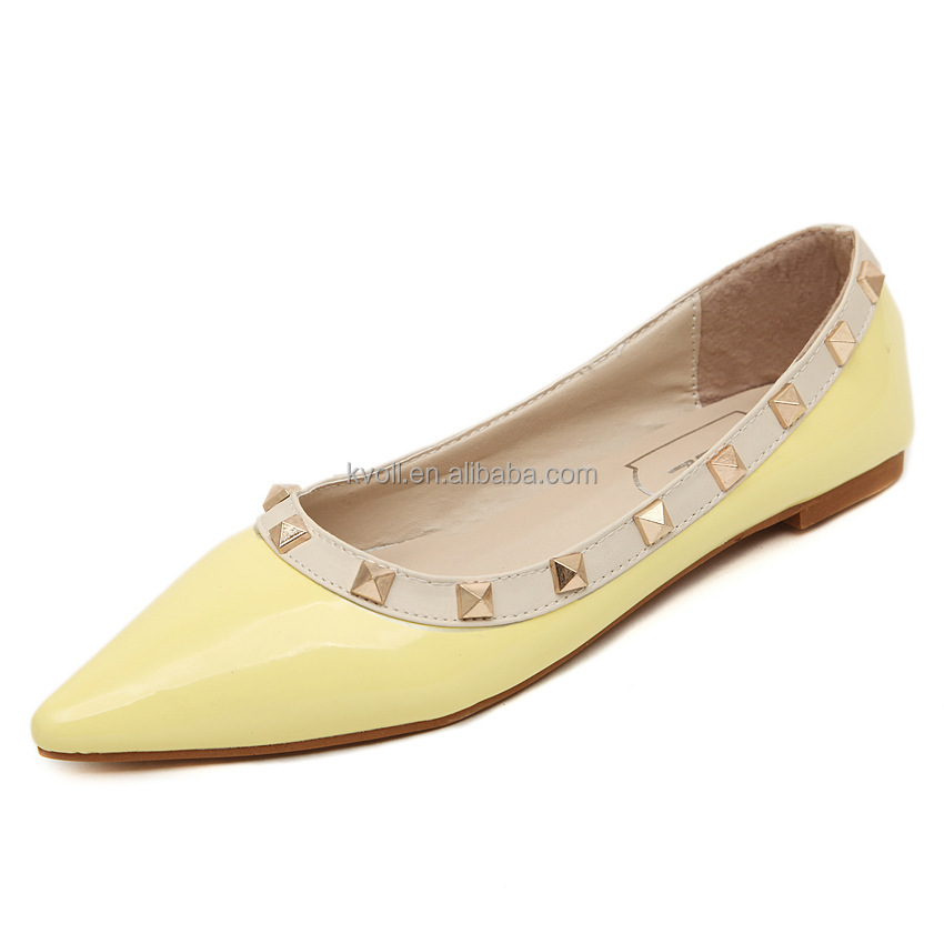 2017 Italian Pointed Toe Flat Women <strong>Shoes</strong>