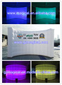 indoor LED light inflatable air wall partition