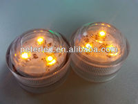 LED sumbersible light decoration for festival and wedding waterproof or timer colourful