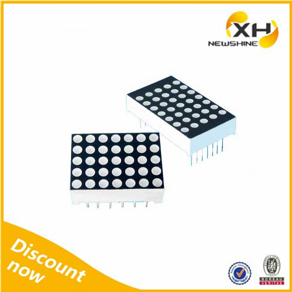Free Sample Indoor Outdoor using High Brightness dot matrix led digital clock display