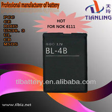 Mobile Phone Accessories High Quality Mobile Phone Battery Bl-4b For Nokia 5000