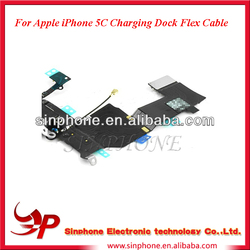 Original Spare Part For iPhone 5C Charging Port Dock Connector Flex Cable