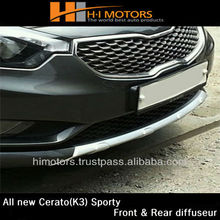 Kia all new cerato(K3) Sporty Front Diffuser & Rear Diffuser