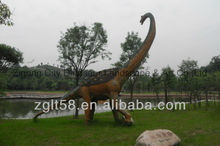 Large Rubber Animals Outdoor Fiberglass Dinosaur Statue