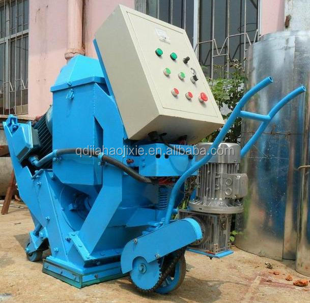 Movable Floor Shot Blasting Machine /bridge rust cleaning equipment.