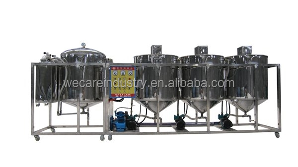 small edible oil refinery machine/cooking oil refinery equipment for African market