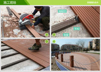 wpc decking wall panel board fence outdoor wood plastic composite plastic wood plank flooring