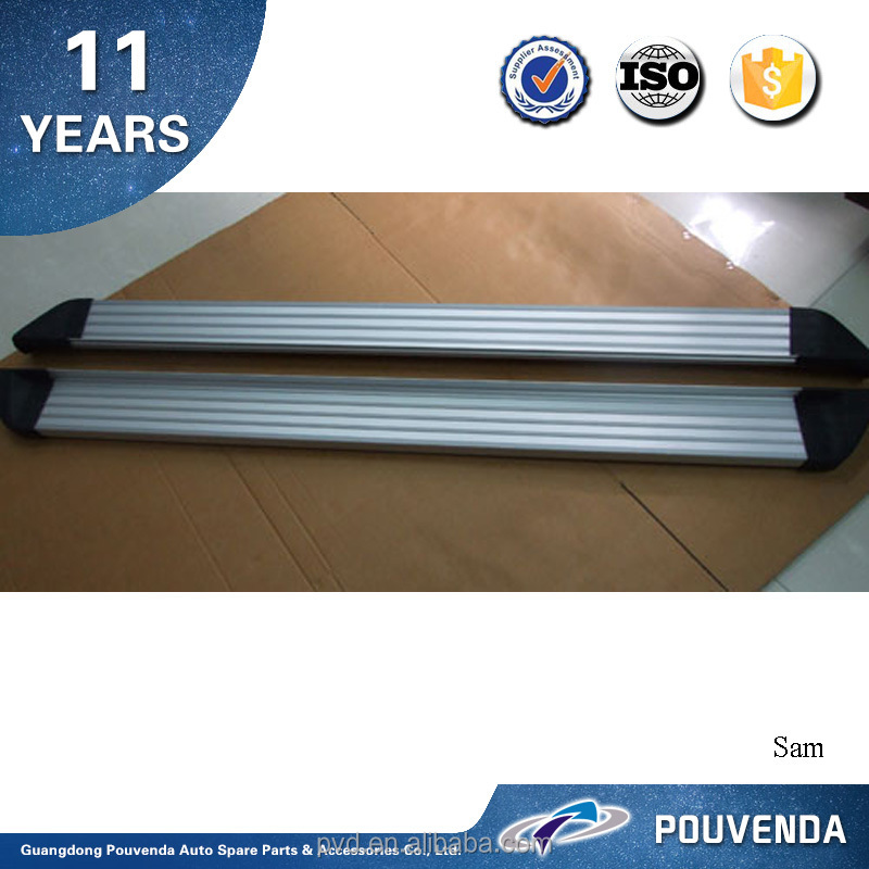 High Quality Aluminium Alloy Running Board for 2013+ Qashqai Aluminium Alloy side step