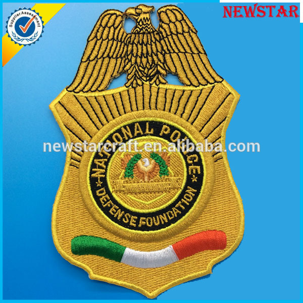 Eagle Custom Machine Embroidery Textile Patches