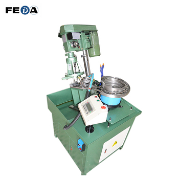 FEDA auto tapping machine automatic pipe threading machine internal threading machine