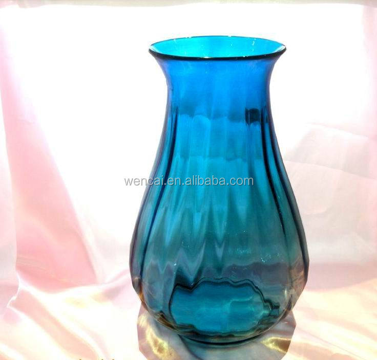 hot sale high quality 24 inch glass vases