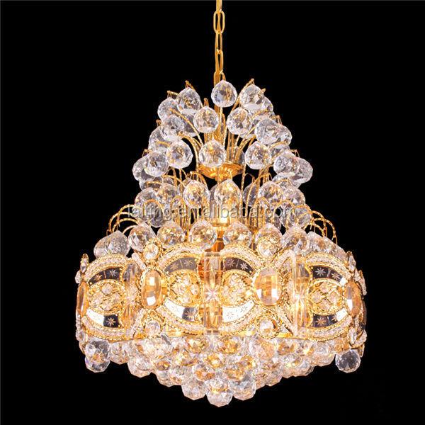 Small Gold Plating Chandelier Turkish Chandelier Lighting