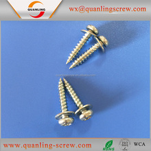 Wholesale goods from china pan head with washer self tapping screw for aluminum