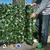 Faux Conifer Hedge Screening Artificial Fence - 3m Long