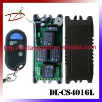 wall through multi channel wireless control relay boards