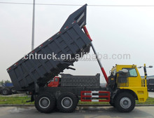 hydraulic hoist for lifting cargo box