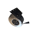 Single-phase 2100 RPM high pressure belt drive ac electric centrifugal blower fans
