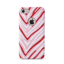 Black and White Zebra stripe Animal Design pu leather soft phone Case for iphone 7