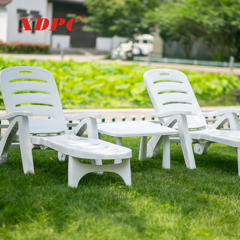 wholesale modern white party beach outdoor swimming pool recliner leisure sun lounge folding chair