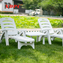 wholesale modern white plastic party beach outdoor swimming pool recliner leisure sun lounge folding chair