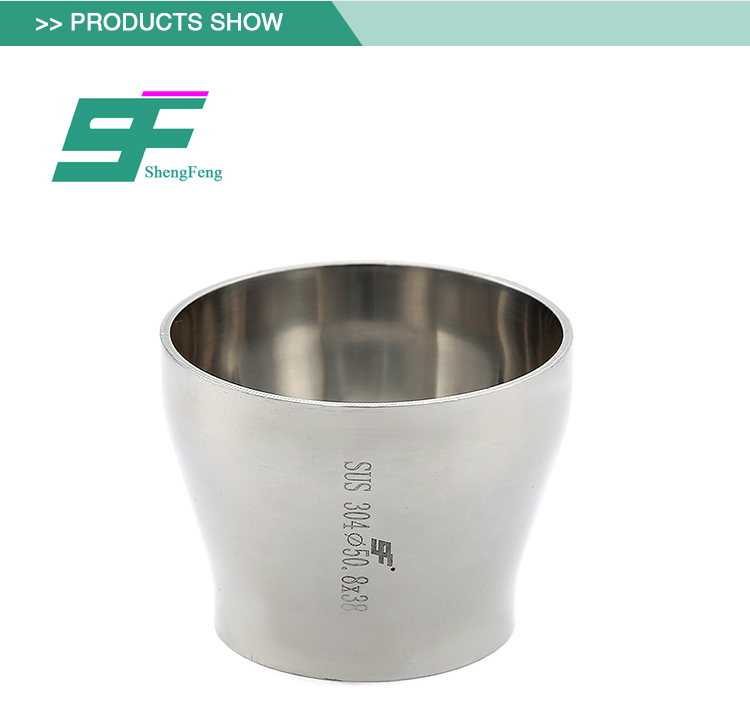 High quality exquisite workmanship stainless steel sanitary short type reducer
