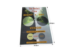 2015 Wholesale Matt Laminated Stand Up Cardboard Display Poster