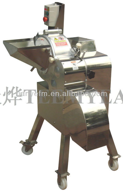 TD-800 Hot Selling fruit cube cutting machine (Video) Taiwan Factory