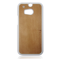 Wholesale blank wood phone case,cheap wooden case for HTC M8