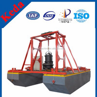 China supplier Submersible Sand Dredge Pump Boat hot sale with low price