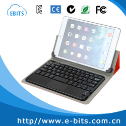 Latest popular style PU leather tablet keyboard made in china for tablet computer keyboard