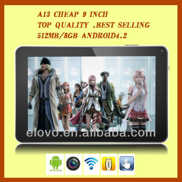 Hot selling !!! 9 inch Allwinner A13 mini android smart tablet pc