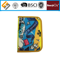 Custom-made printing 2 layers pencil case for kids