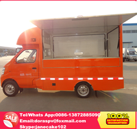 Chang an Euro IV euro V fast food mobile kitchen van