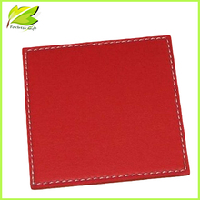 Sew blank pad coaster absorbent paper beer coaster