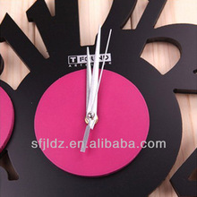 Lucky number wall clock art contracted fashion wall clock Bracelet watch