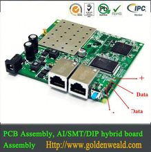 pcb smd assembly Audio amplifier pcba and electronic manufacturing services