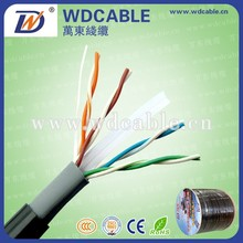 Computer cables and cables UTP cat 6 24awg outdoor cat6 lan cable 305m