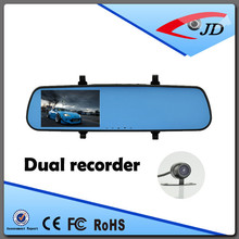 manufacturer price rearview mirror vehicle traveling data recorder with dual lens