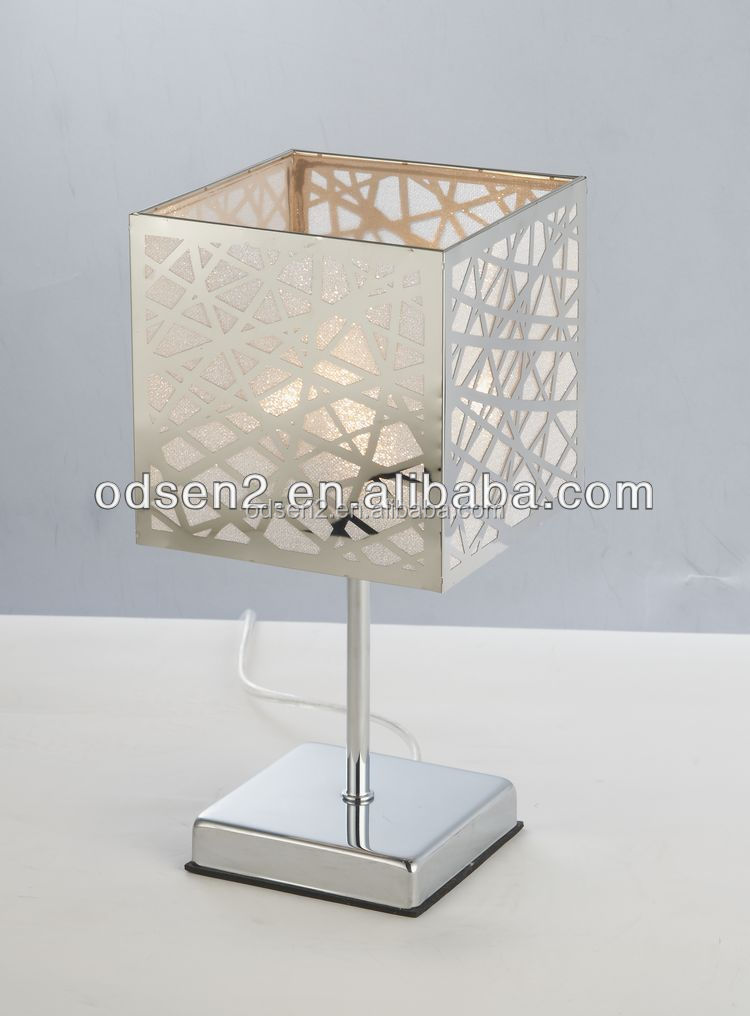 CE square home goods handmade table lamps
