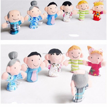 Cute Animal Hand Puppets Baby Plush Toy Finger Puppet Tell Story Props Child Dolls&Stuffed Toys For Christmas Gift