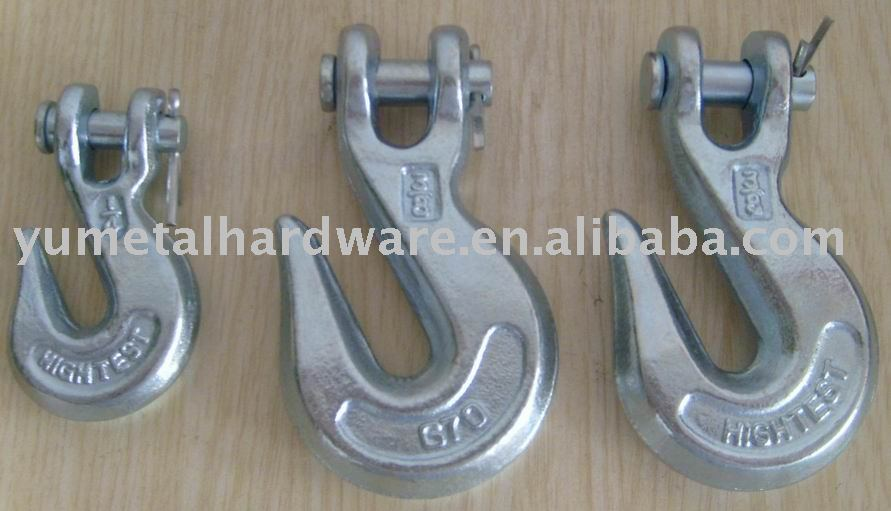 Drop Forged Alloy Steel Clevis Grab Steel Hook
