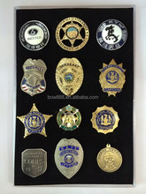 hot selling custom metal badge with saftey pin