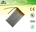 Li-Polymer 344864 1000mAh 3.7v Rechargeable battery
