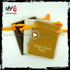 Fashion style new model cheap small velvet gift bags