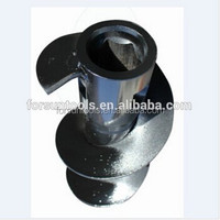 Drilling rod for coal and rock mining