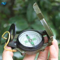 New Lensatic Camping Hiking Survival Marng Metal