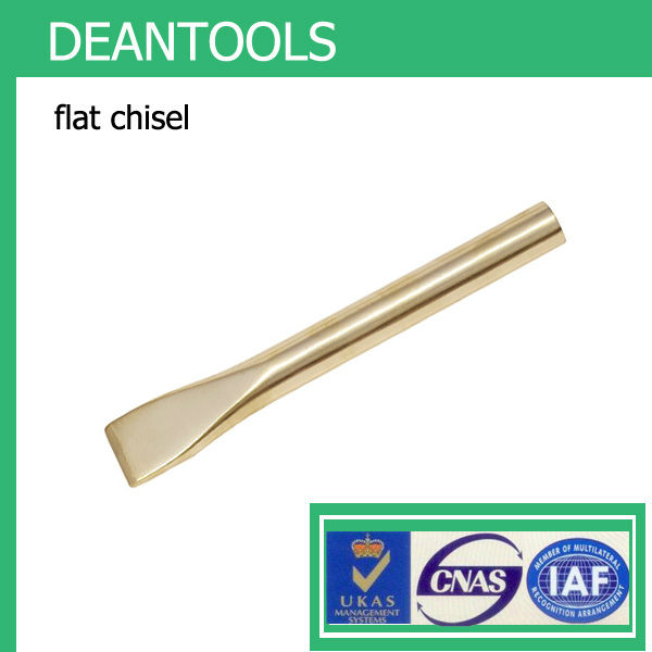copper alloy non sparking flat chisel