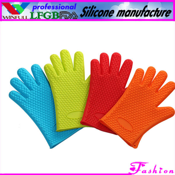 silicon oven glove for cooking/silicone novelty oven gloves/funny silicone oven glove