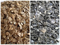 Raw Unexpended Silver And Golden Vermiculite Ore Sale